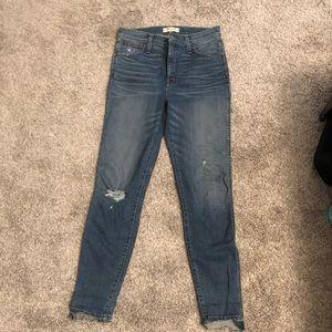 Madewell Distressed Skinny Jeans